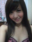 香港正妹身材火辣 笑容甜美