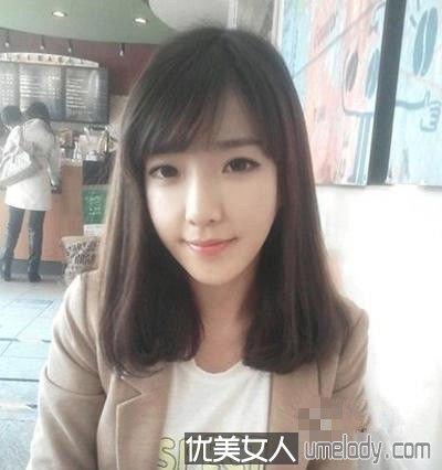 中短发发型图片2015女