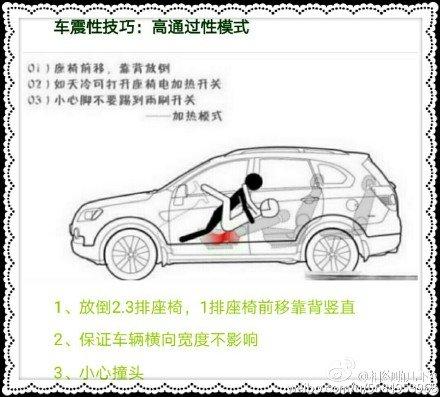 4种车震姿势 你学会了吗?
