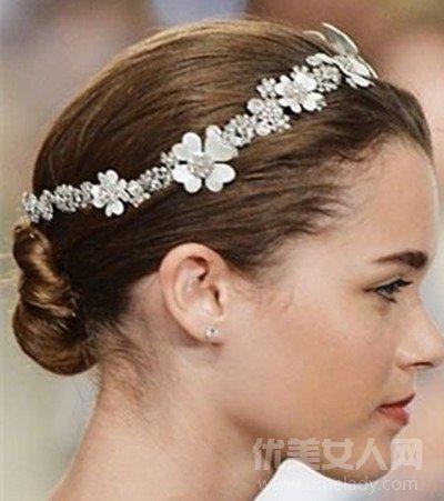 胖新娘发型图片大全 展现唯美的韩式风格