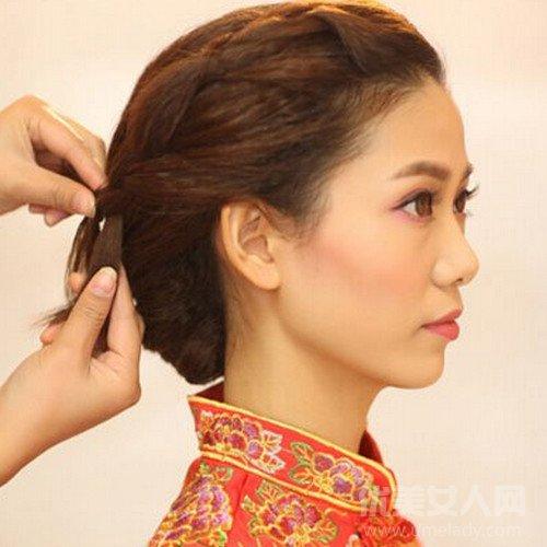 中式新娘发型教程解析 绝对让你惊艳全场图片