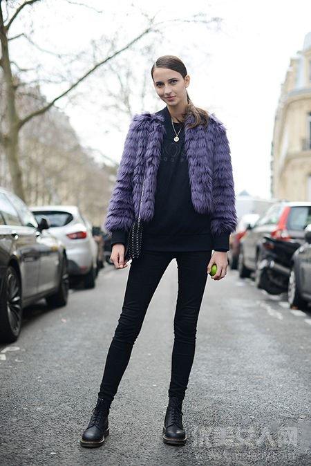 冬装外套搭配图片 让你温度与风度并存