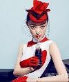 倪妮的红唇很春天 没用过正红色你都不知道自己多美
