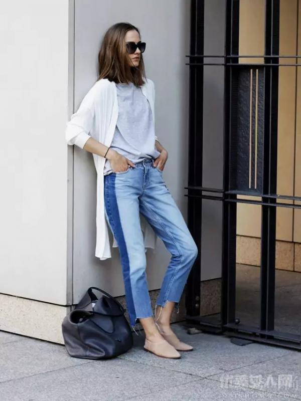 尼加拉蓝牛仔裤