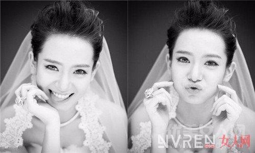 谁说短发妹子就不能漂漂亮亮做新娘啦,这几位告诉你一切皆有可能!