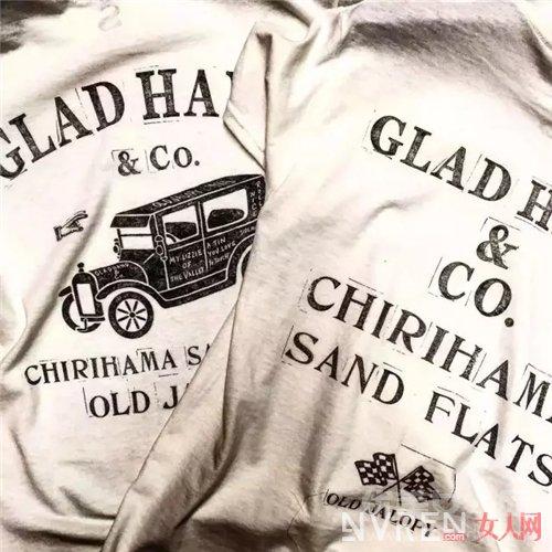 GLAD HAND & Co白T恤介绍_这三个品牌的白T恤 定能让你穿出夏天的味道