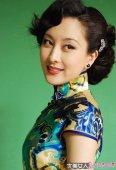 演员马苏的旗袍摄影美图